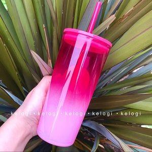Starbucks Other - 🎀NEW SET🎀Starbucks Pink Studded & Barbie Tumbler
